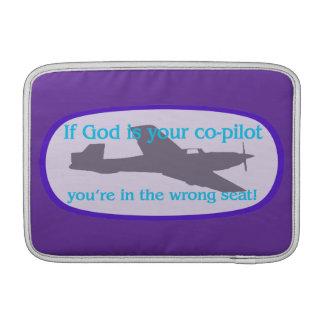 ¡Si dios es su copiloto you están en el incorrec Funda MacBook