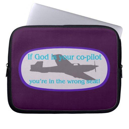 ¡Si dios es su copiloto. .you están en el incorrec Manga Portátil