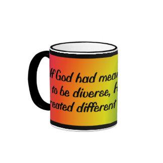 Si dios había significado para el mundo taza