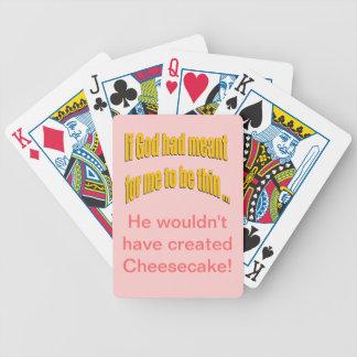 Si dios había significado para que sea fino baraja de cartas