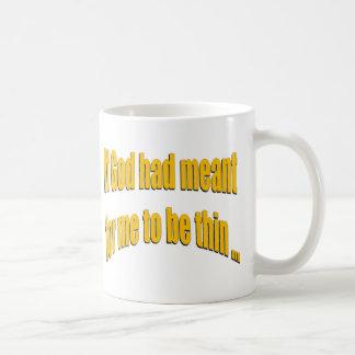Si dios había significado para que sea fino tazas de café