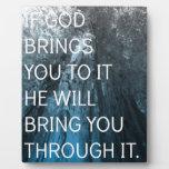 Si dios le le trae placas