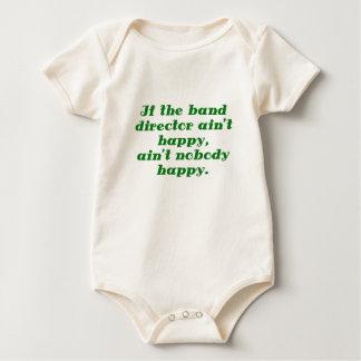 Si el aint feliz del aint del director de la banda body para bebé