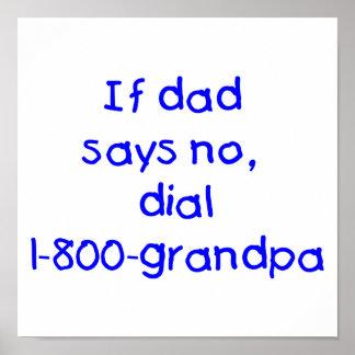Si el papá dice no el azul impresiones