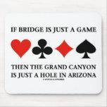 Si el puente es apenas un agujero del Gran Cañón d Tapete De Raton