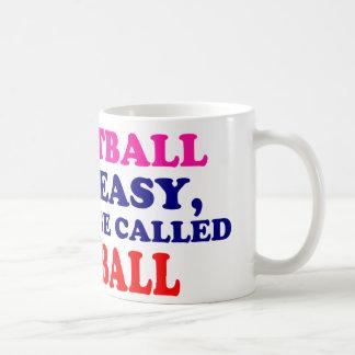 Si el softball era fácil…. tazas de café