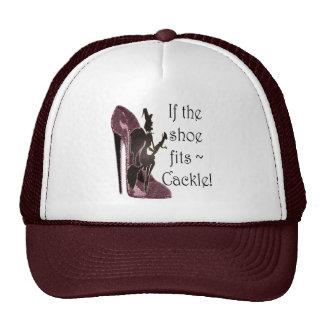 ¡Si el zapato cabe el cacareo del ~! Regalos diver Gorras De Camionero