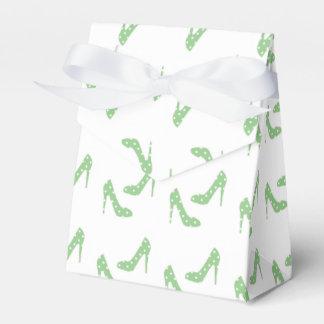 Si el zapato cabe las cajas del favor de fiesta caja para regalos