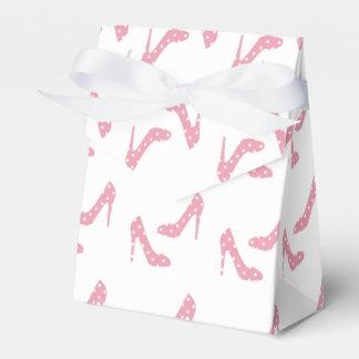 Si el zapato cabe rosa caja para regalo de boda