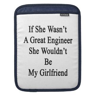 Si ella no fuera gran ingeniero ella no sería mi mangas de iPad