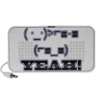 ¡SÍ! Emoticon PC Altavoces