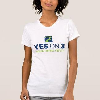 ¡Sí en 3! Las mujeres multan la camiseta del