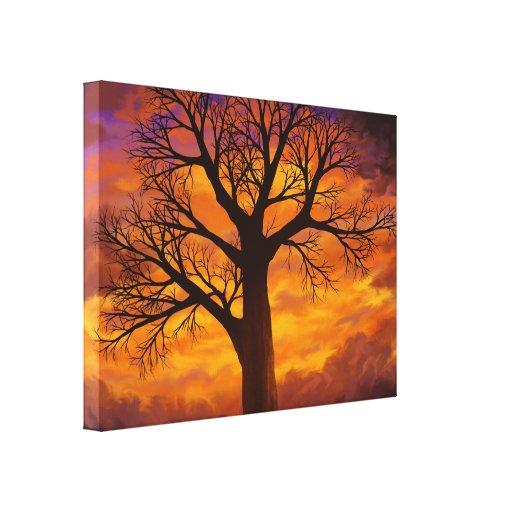 Si era un árbol - impresión envuelta de la lona impresión en lona