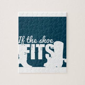 Si es el zapato él puzzle