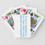 Si es favorable es el contrario de la estafa, cartas de juego