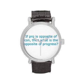 Si es favorable es el contrario de la estafa, relojes de mano