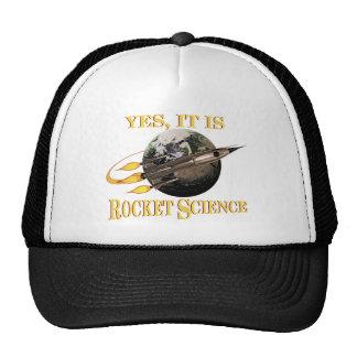 Sí, es gorra de la ingeniería espacial