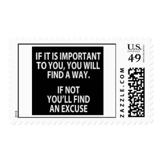 Si es importante para usted sello