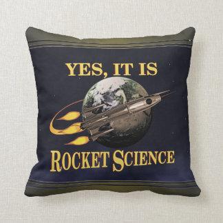 Sí, es ingeniería espacial cojín