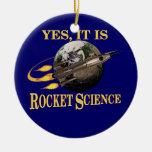 Sí, es ingeniería espacial ornato