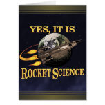 Sí, es tarjeta de la ingeniería espacial
