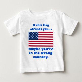 si esta bandera le ofende, usted está quizá en el polera