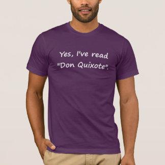 "Sí, he leído ""Don Quijote"". Playera"