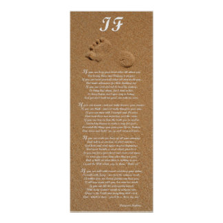 Si - impresión del poema de Rudyard Kipling Poster