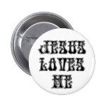 ¡Sí!  ¡Jesús me ama! Pin