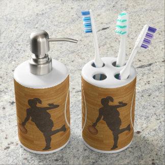 ¡Sí, juego como un chica!!!! Sistema del baño Conjuntos De Baño