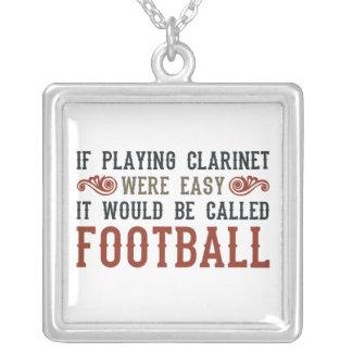 Si jugó el Clarinet eran fácil Collares