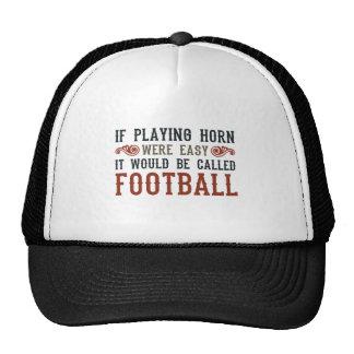Si jugó el cuerno eran fácil gorras de camionero