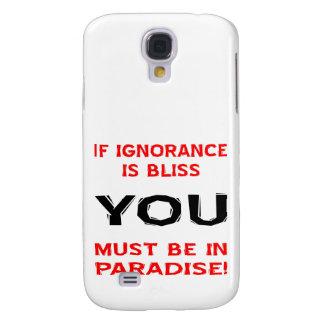 Si la ignorancia es dicha USTED debe estar en para