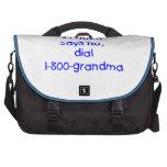 si la mamá dice no… (el azul) bolsas para ordenador