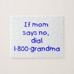 si la mamá dice no… (el azul) rompecabeza con fotos