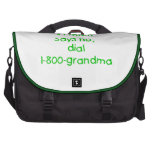 si la mamá dice no… (el verde) bolsas de portatil