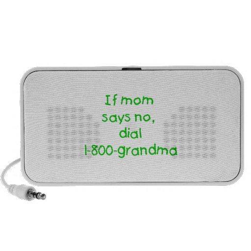 si la mamá dice no… (el verde) iPod altavoces