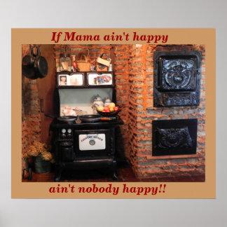 Si la mamá no es feliz póster