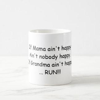 Si la mamá no es feliz…. taza de café