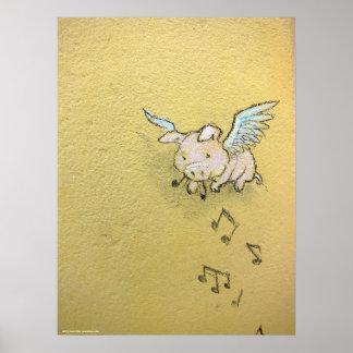 Si la música sea el Slop del amor Póster