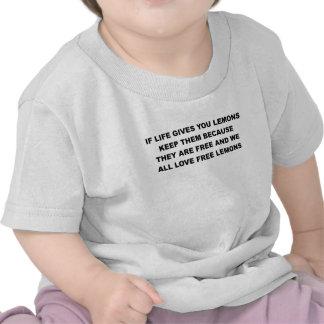 SI la VIDA LE DA LEMONS.png Camiseta