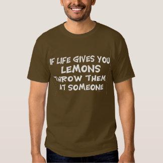 Si la vida le da los limones camisas