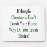 Si las criaturas de la selva no trash su hogar por tapete de ratones