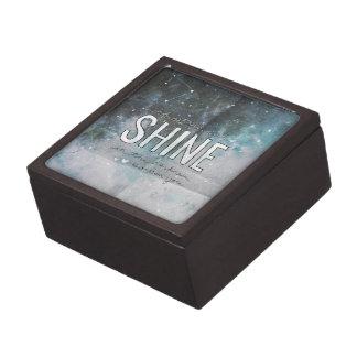 Si las estrellas brillan en la oscuridad inspirada cajas de regalo de calidad