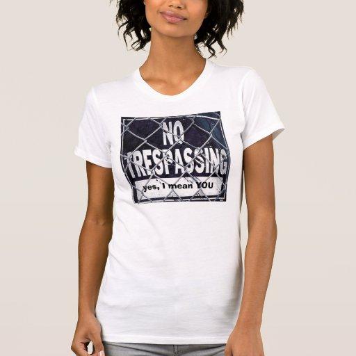 sí, le significo camisetas
