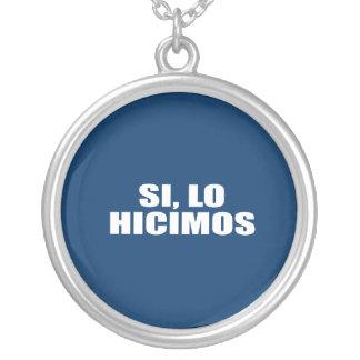 SI LO HICIMOS COLLARES