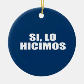 SI LO HICIMOS ADORNOS DE NAVIDAD