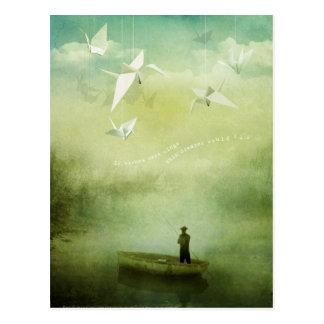Si los deseos eran alas (la postal)