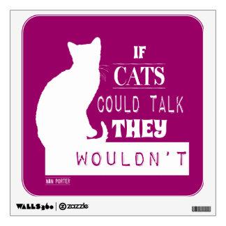 Si los gatos podrían hablar no