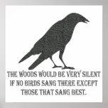 Si ningunos pájaros cantaron impresiones